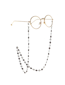 Silver Eye Round Chain Anti-lost Metal Glasses Chain