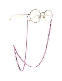 Rose Red Chain Glasses Chain