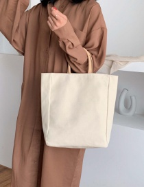Fashion White Canvas Cross-body Bag