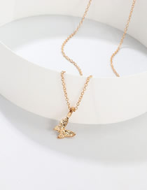 Fashion Golden Butterfly Necklace Pendant