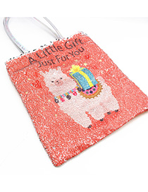 Fashion Alpaca + Gift Gift Alpaca Sequined Shoulder Bag