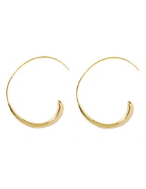 Fashion Semicircle C-shaped Earrings