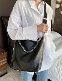 Fashion Black Chain Shoulder Bag