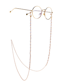 Fashion Golden Silver Pearl Chain Glasses Chain