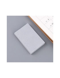 Fashion Cement Grey-trumpet Cement Gray Sticky Tearable Convenient Sticker