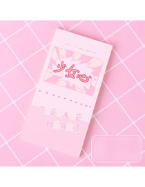 Fashion Girly Heart Girly Heart Tearing Note Paper