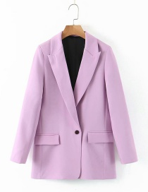 Fashion Pink One Button Small Suit
