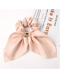 Fashion Snow Tooth Knotted Rabbit Ear Streamer Metal Buckle Fabric Bowel Hair Rope