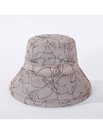 Fashion Beige Foldable Fisherman Hat
