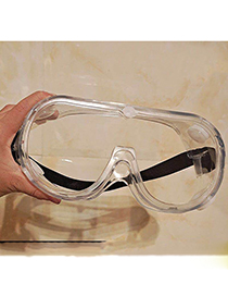Fashion Transparent Anti-fog Fully Enclosed Anti-fog Wind And Sand Anti-fog Goggles