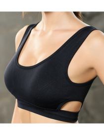Fashion Black Hollow And Fast Drying And Moisture Absorption Sweating Underwear