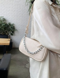 Fashion Rice White Stone Chain Chain Shoulder Bag