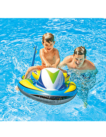 Fashion Moto Surfing Water Motorcycle Inflatable Children's Mount Floating Row