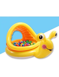Fashion Yellow Children's Inflatable Baby Swimming Pool