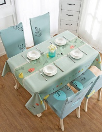 Fashion Wishing Tree (140 * 180cm Without Chair Cover) Printed Dustproof And Waterproof Household Tablecloth