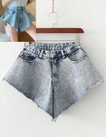 Shorts Acampanados Irregulares