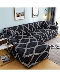 Fashion Jian Ling Printed All-in-one Dustproof Stretch All-inclusive Sofa Cover