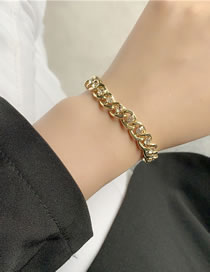 Fashion Bracelet Chain Sense Diamond Alloy Bracelet Necklace