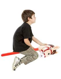 Juguete De Cabeza De Caballo Inflable Para Niños