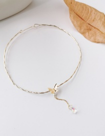 Fashion Butterfly Butterfly Clavicle Chain