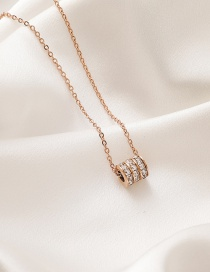 Fashion Golden Titanium Clavicle Chain