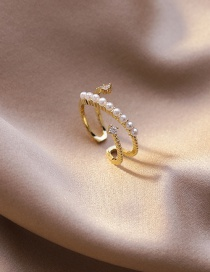 Fashion Section 8 Micro-set Zircon Stack Ring