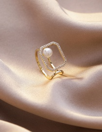 Fashion Section 10 Micro-set Zircon Stack Ring