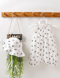 Fashion White Baby Sling Print Clothes