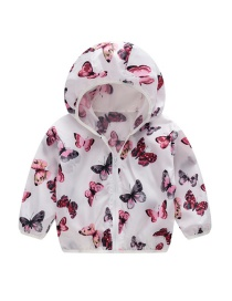 Fashion Butterfly Hooded Outdoor Sun Protection Clothing