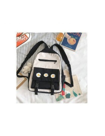 Fashion Black Send Cubs And Daisies Daisy Backpack
