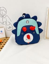 Fashion Dark Blue Childrens Dinosaur Backpack Backpack