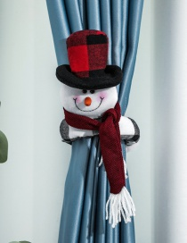 Fashion Snowman Curtain Buckle Old Man Snowman Christmas Curtain Buckle