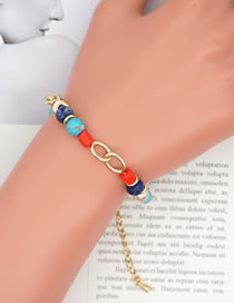 Fashion Color Mixing Handmade Beaded Natural Freshwater Pearl Bracelet