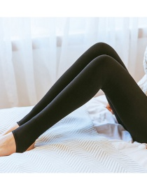 Fashion Black Stepped Foot 100 Grams (without Velvet) Plus Velvet Thickening Bottoming Pantyhose