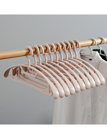 Fashion Shoulder Width-pink (single Price) Non-marking Multifunctional Non-slip Hanger