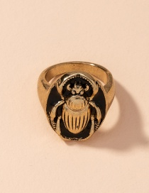 Fashion Number 6 Animal Insect Alloy Geometric Ring