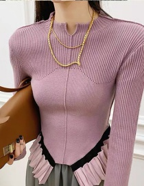 Fashion Gold Color Thin Chain Alloy Multilayer Necklace