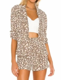 Fashion Leopard Animal Print Shorts