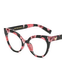 Fashion C13-1 Floral/transparent There Are Lens Frames With Myopia Glasses