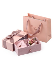 Fashion Pink Bow Packing Box