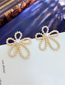 Fashion Gold Color Flower Earrings