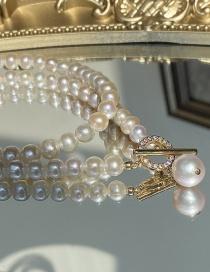 Fashion White Pearl Necklace