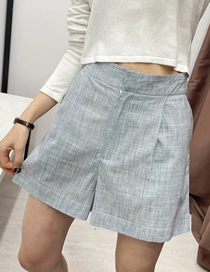 Fashion Plaid Striped Shorts