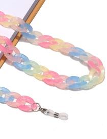 Fashion Color Resin Acrylic Glasses Chain