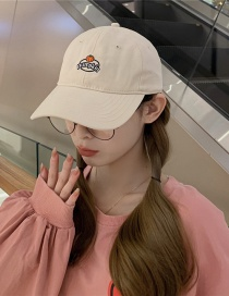 Fashion Beige Beige Pumpkin Baseball Cap