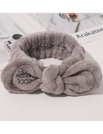 Fashion Cool Section-brown Letter Frío Plush Sequin Hair Band