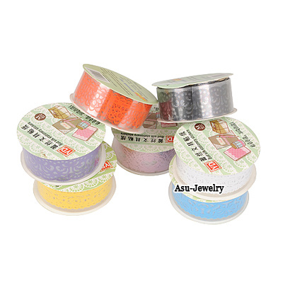 Homecoming Color will be random Lace Medium Decoration Plastic Stickers Tape