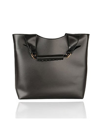 Special black Square Shape Design PU Handbags