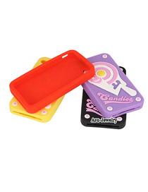 Caspari Color will be random Sweet Lollipop Design Silicon Iphone 4 4s
