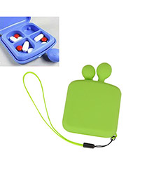 Fused Apple Green Fashion Cartoon Design ABS Household goods